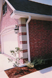6 inch house gutters
